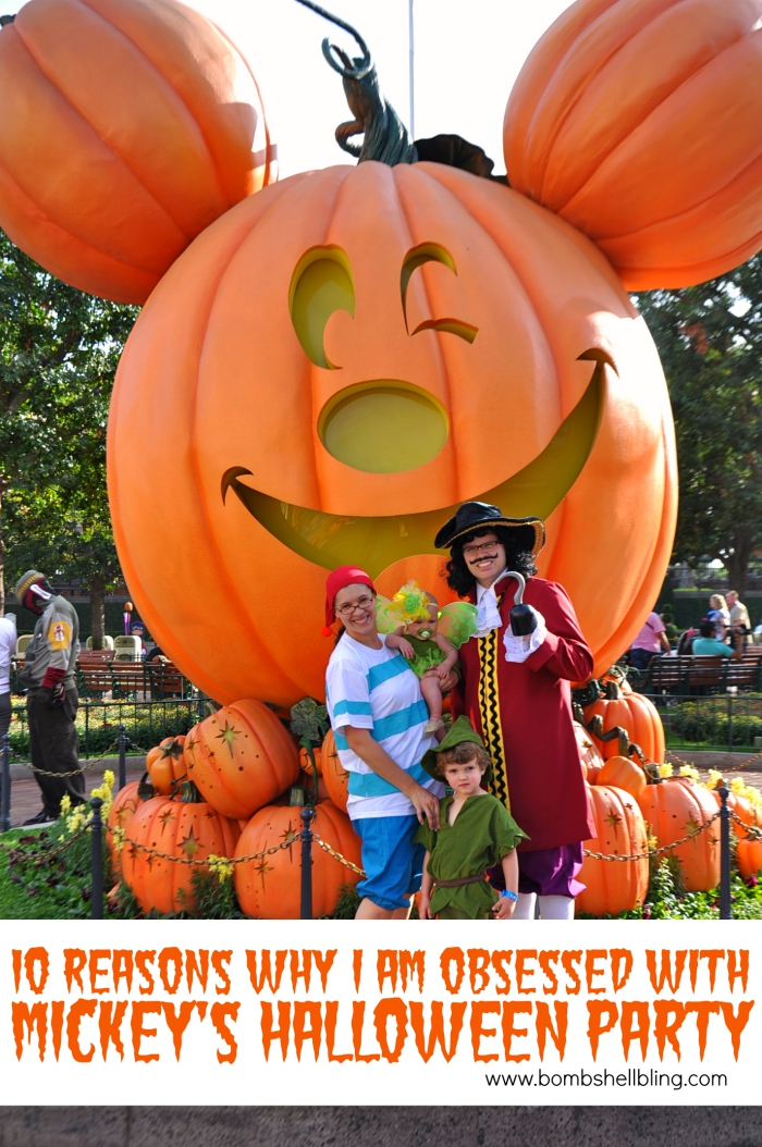 10 Reasons Why I Am OBSESSED With Mickey's Halloween Party