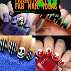 20 Frightfully Fab Halloween Nail Art Tutorials