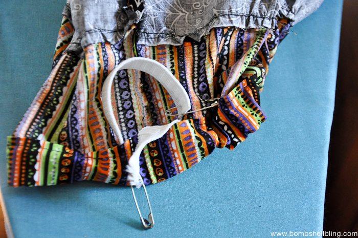 Halloween Maxi Skirt Tutorial-11