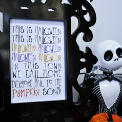 This is Halloween: The Nightmare Before Christmas Printable