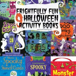 9 Frightfully Fun Halloween Activity Books