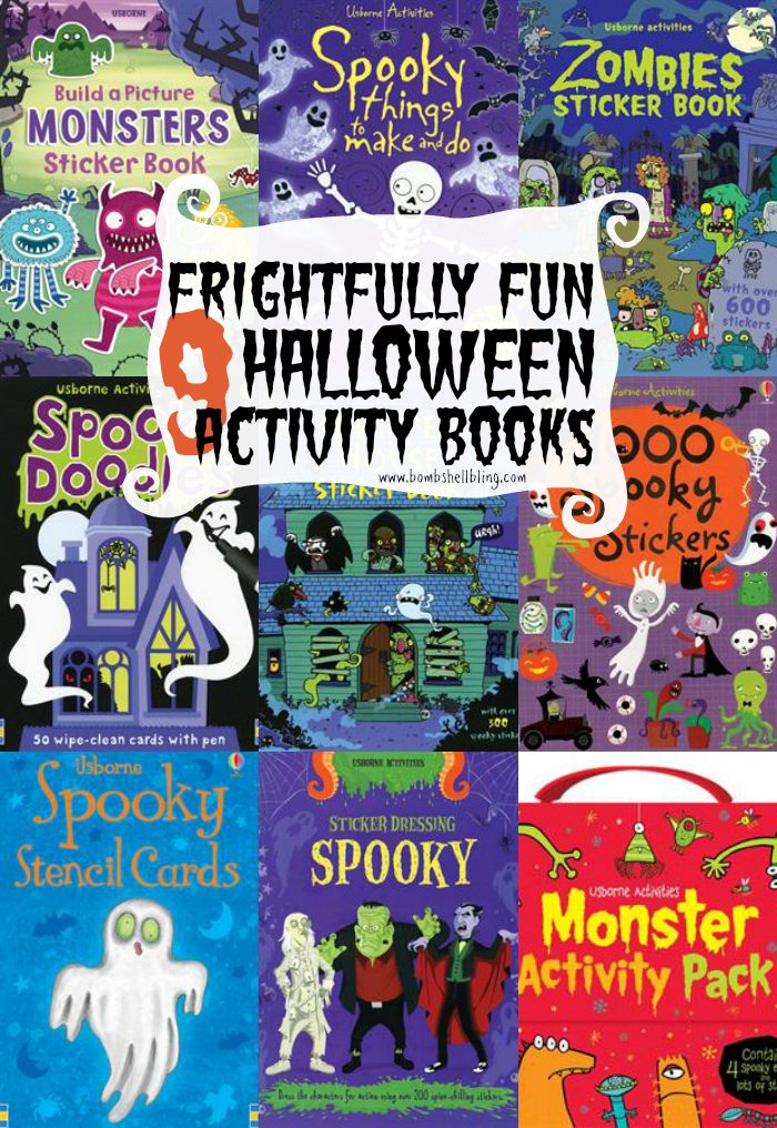 Your kids (AND YOU!) will have a blast this Halloween with these 9 Halloween activity books. The sticker books are seriously awesome!
