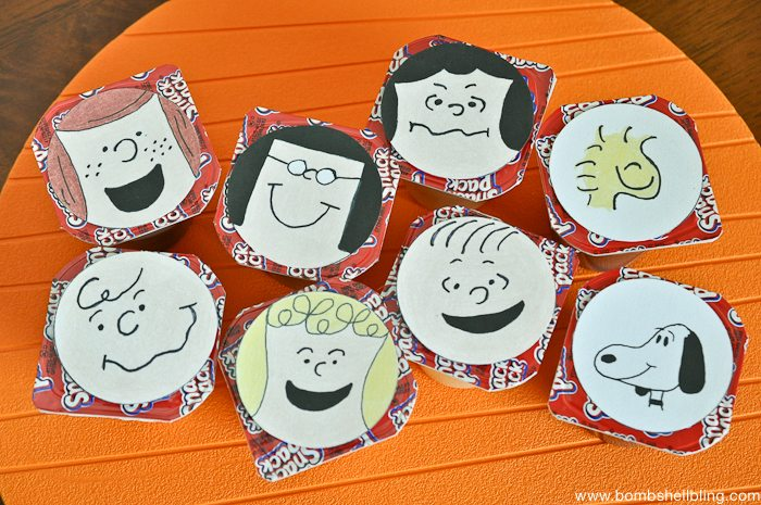FREE Printable Peanuts Character Toppers-3