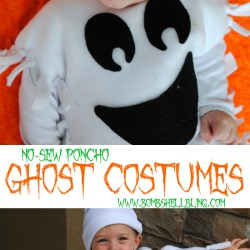 Easy No-Sew Ghost Costume