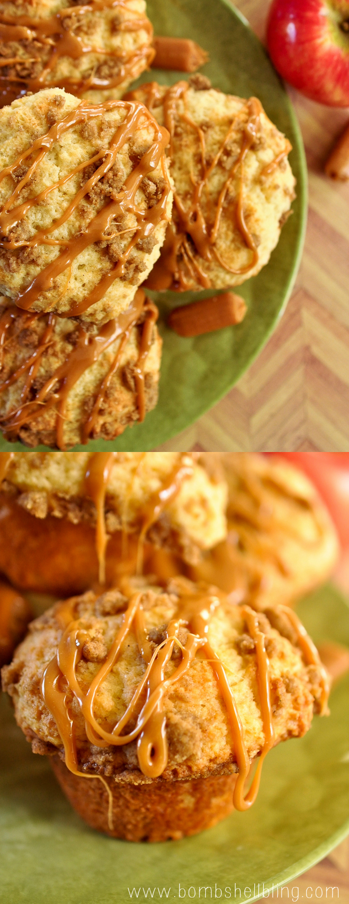 Caramel Apple Muffins Recipe