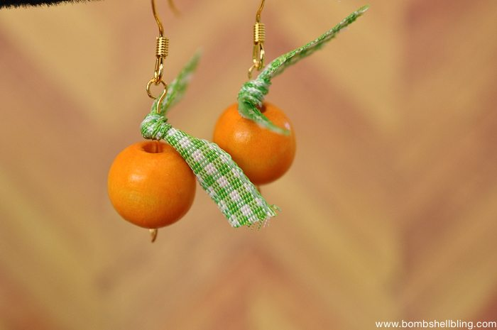 Pumpkin Inspired Earrings-7
