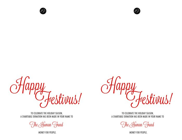 This Festivus printable card is sure to make any Seinfeld fan laugh! Print them out as gag gifts for friends and co-workers!