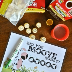 Did You Moove Today? FREE Healthy Habits Printable