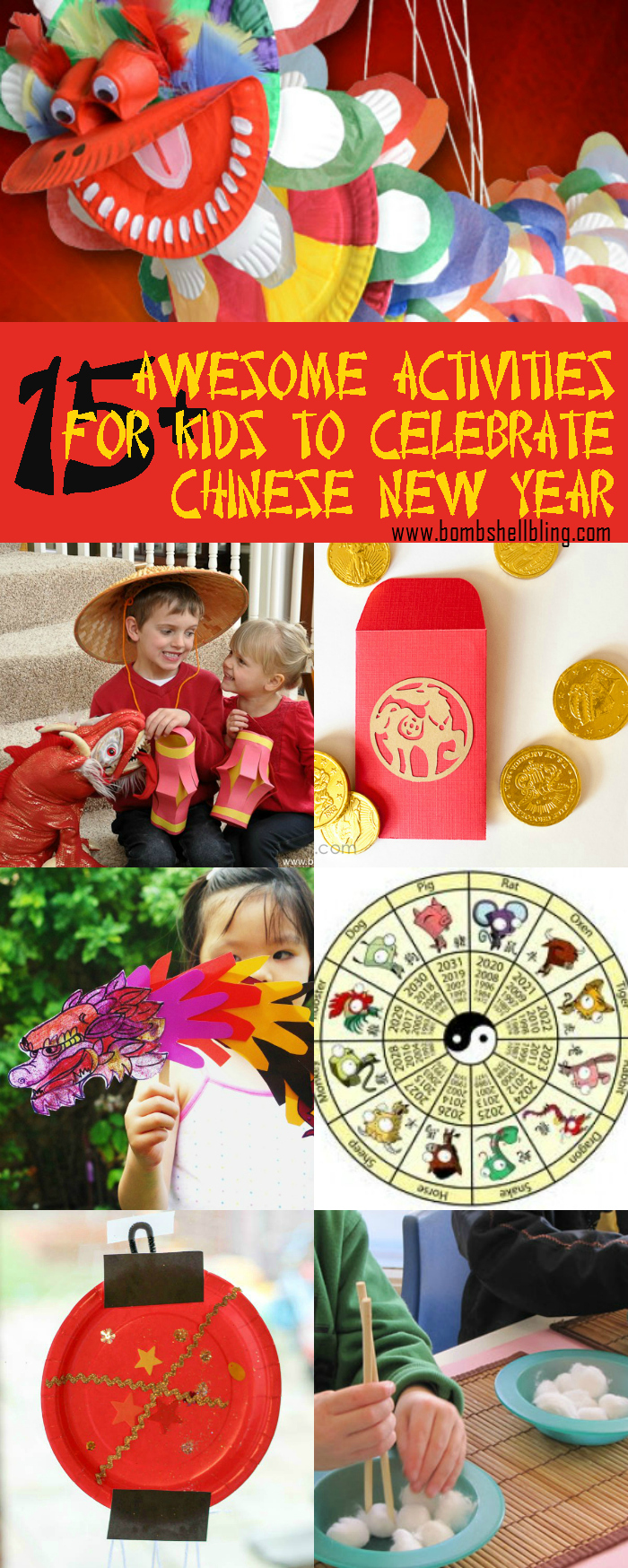 These Chinese New Year activities for kids are sure to delight and easy to implement for your family celebration.