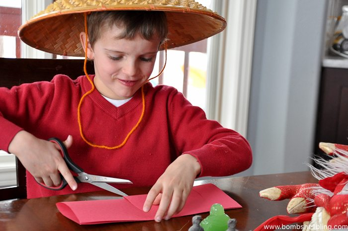 Chinese New Year Lantern Kid Craft-1