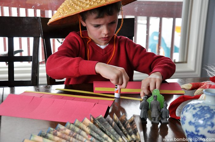 Chinese New Year Lantern Kid Craft-3
