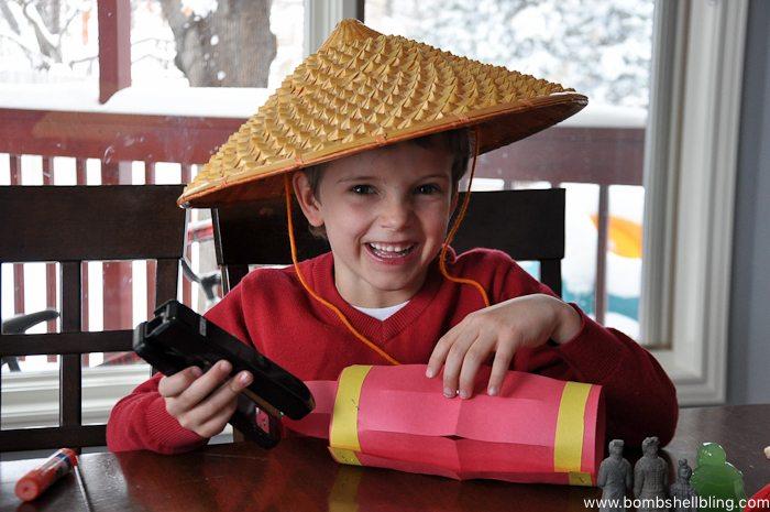 Chinese New Year Lantern Kid Craft-4