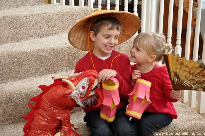 Chinese New Year Lantern Kid Craft-6