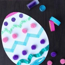 Easter Egg Kid Craft