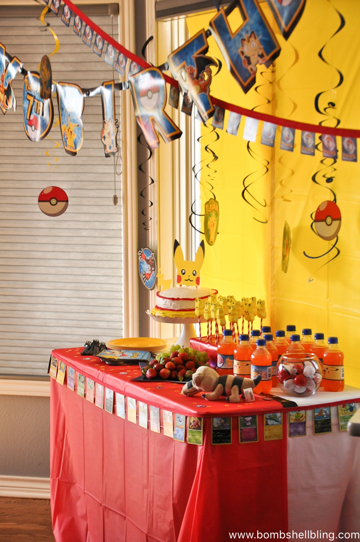 Pokemon Birthday Party-3