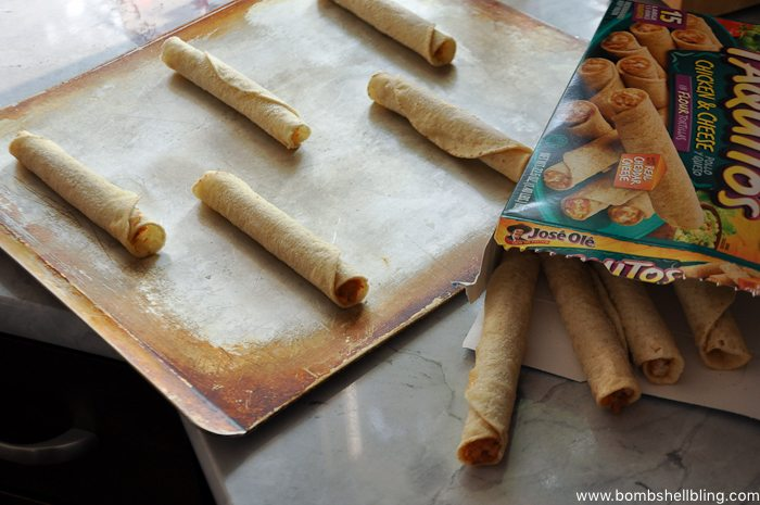 Jose Ole Taquitos and Dipping Sauce-1