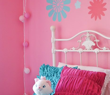 Sweet Little Girl Bedroom Reveal