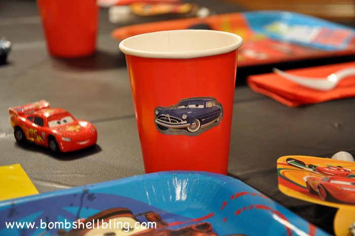 Simple CARS Birthday Party-2