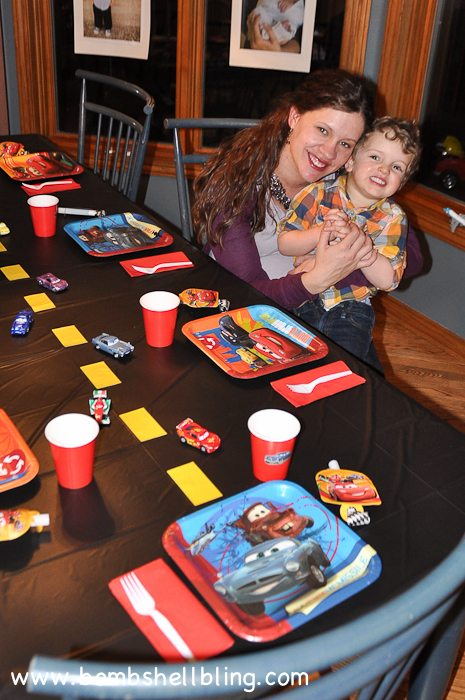 Simple CARS Birthday Party-4