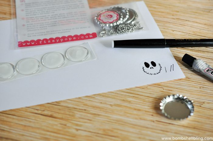 Jack Skellington Necklace Tutorial-2