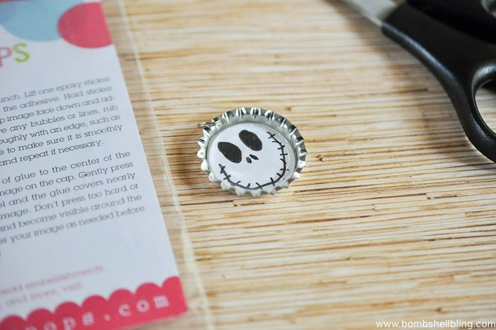Jack Skellington Necklace Tutorial-3
