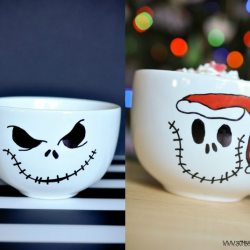 DIY Jack Skellington Multi-Holiday Mug