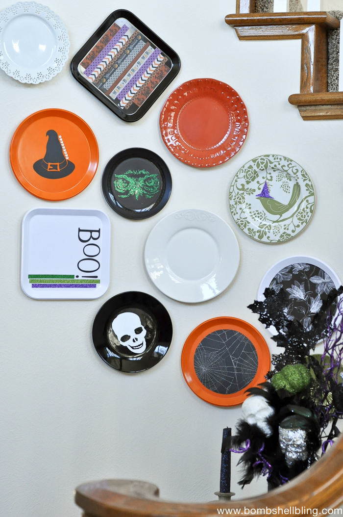 halloween-plate-wall-nook