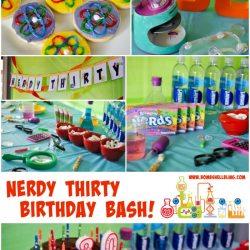 Nerdy Thirty Birthday Party