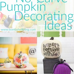 20 No-Carve Pumpkin Decorating Ideas
