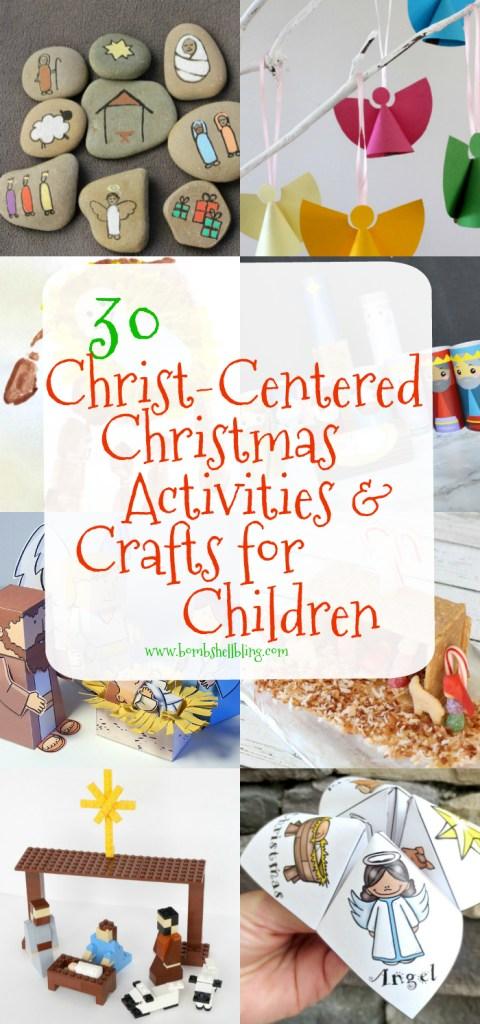 30 Christ-Centered Christmas Activities for Children