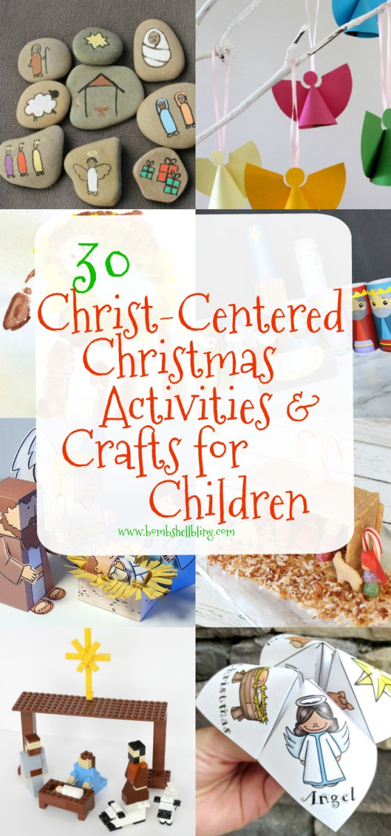 30 Christ-Centered Christmas Activities for Children