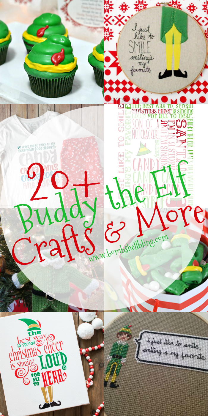 buddy the elf crafts recipes and more are sure to brighten your christmas party ideas printables crafts recipes and beyond