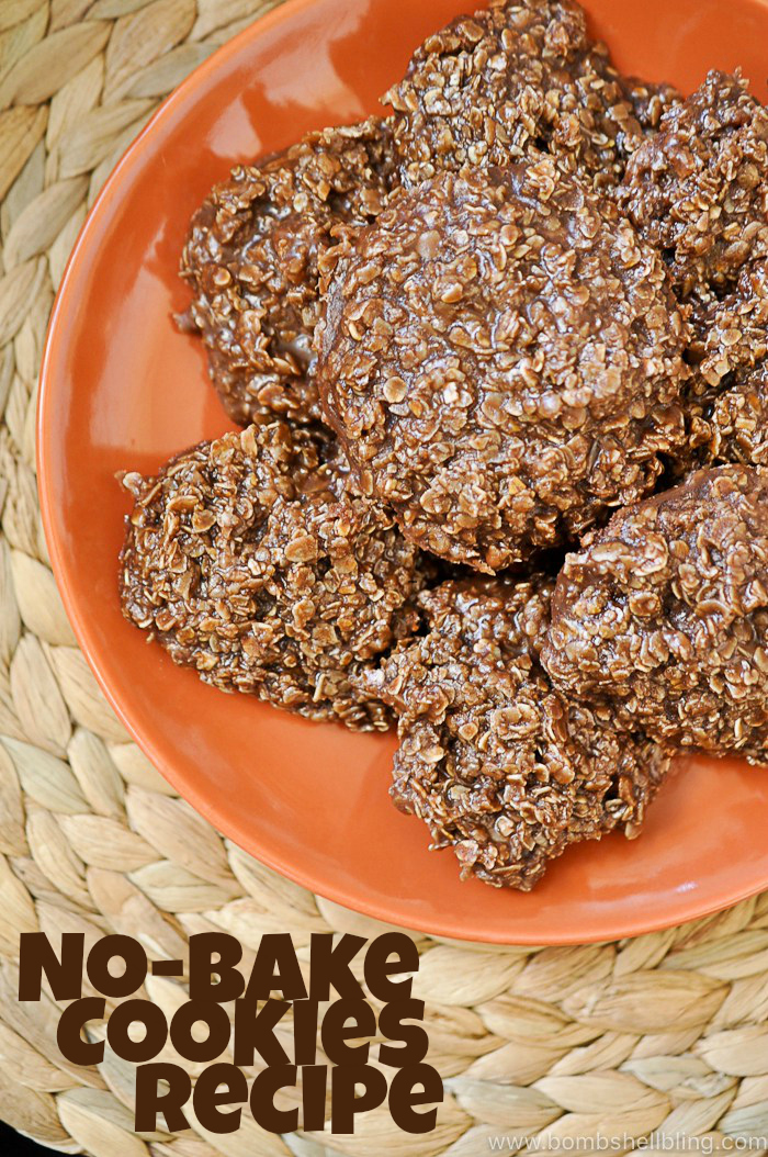 These no bake cookies are easy to make, but SO tasty! Perfect for a hot summer day when you don't want to turn on the oven!