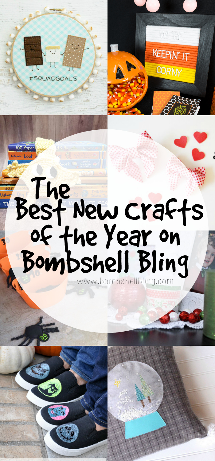 The top new craft posts of the year on Bombshell Bling. From sewing to jewelry, these new craft posts will have you covered!