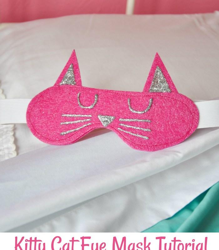 Kitty Cat Sleep Mask
