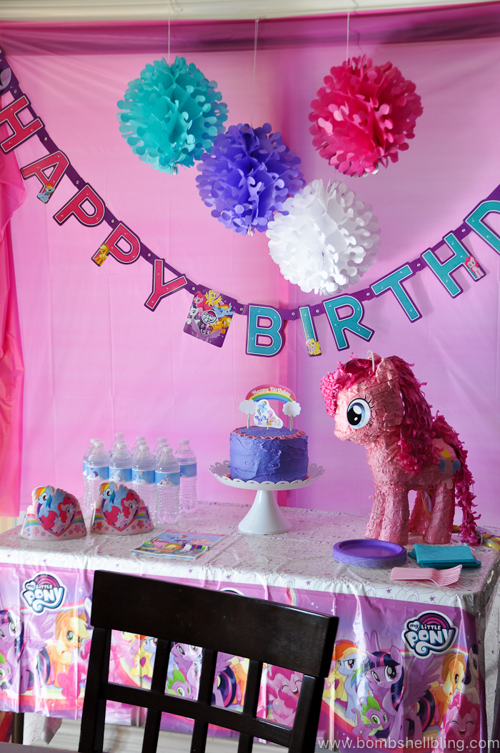 my little pony birthday party the cutest thing ever
