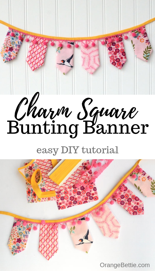 e9d6d3e69d I love projects like this that sew up quick and look cute! Plus it uses  charm squares, so you've got an excuse to treat yourself to a new charm  square pack ...