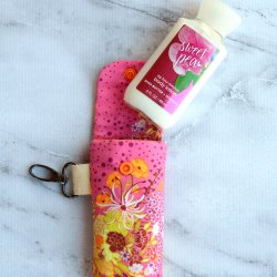 Clippy Lotion Holder Sewing Tutorial