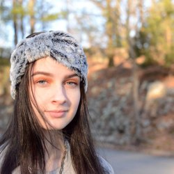 Faux Fur Ear Warmer Headband Sewing Tutorial