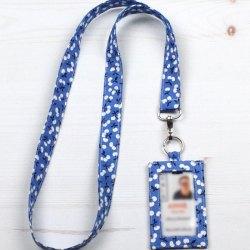 DIY Fabric Lanyard and Badge Holder – Free Sewing Pattern