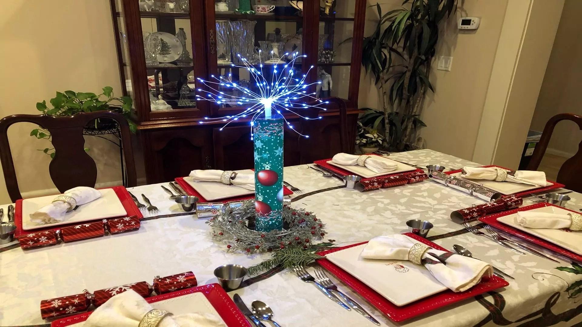 Christmas Table 1920