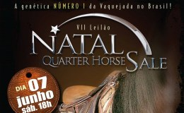 Divulgada a data do VII Natal Quarter Horse Sale