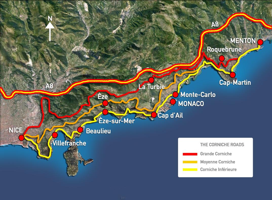 Image result for the grand corniche french riviera