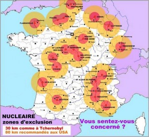 centrales nucleares francia