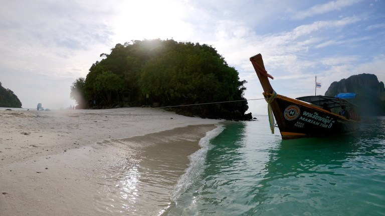 Krabi – Thailand- The Adventure continues – We jumped off a 3 story deck into the ocean
