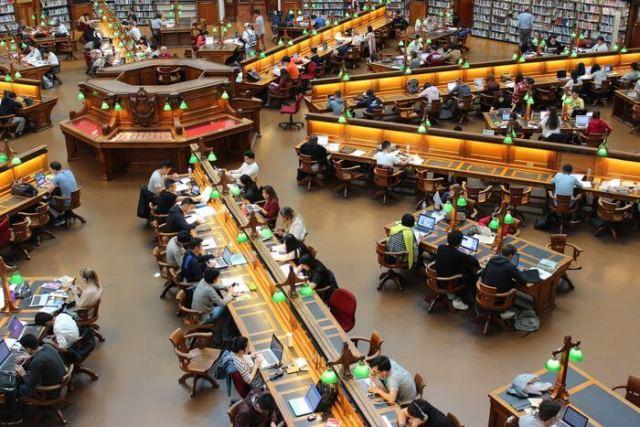 圖書館-待在對的環境