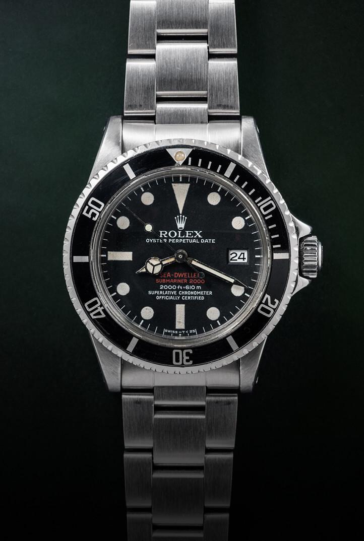 """Rolex Sea-Dweller Ref. 1665 """"Doppia Scritta Rossa"""""""