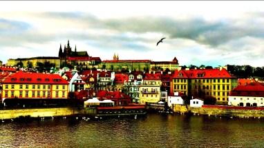 Prague Castle and the Left Bank Full Shot
