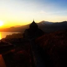 sevanavank-at-sunset