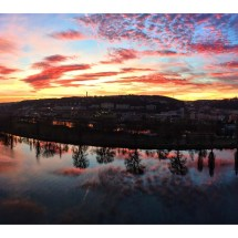 Sunset from Vysehrad